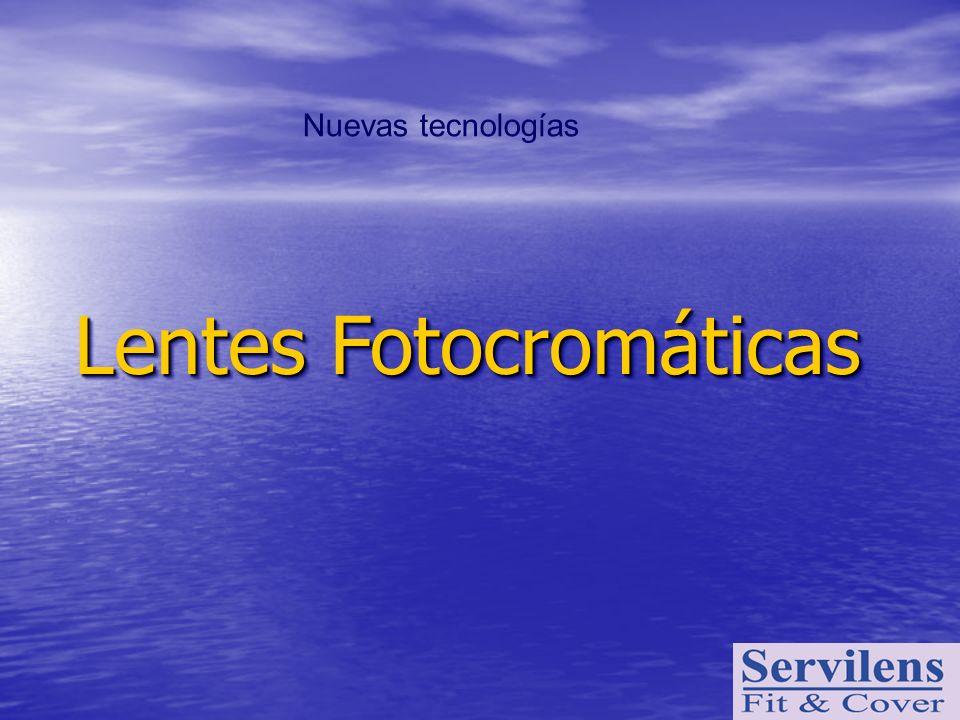 Nuevas tecnologías Lentes Fotocromáticas