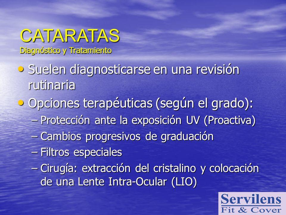 Suelen diagnosticarse en una revisión rutinaria Suelen diagnosticarse en una revisión rutinaria Opciones terapéuticas (según el grado): Opciones terap