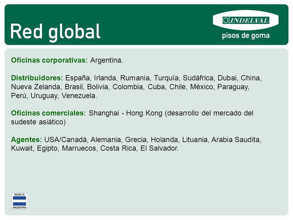 Oficinas corporativas: Argentina.