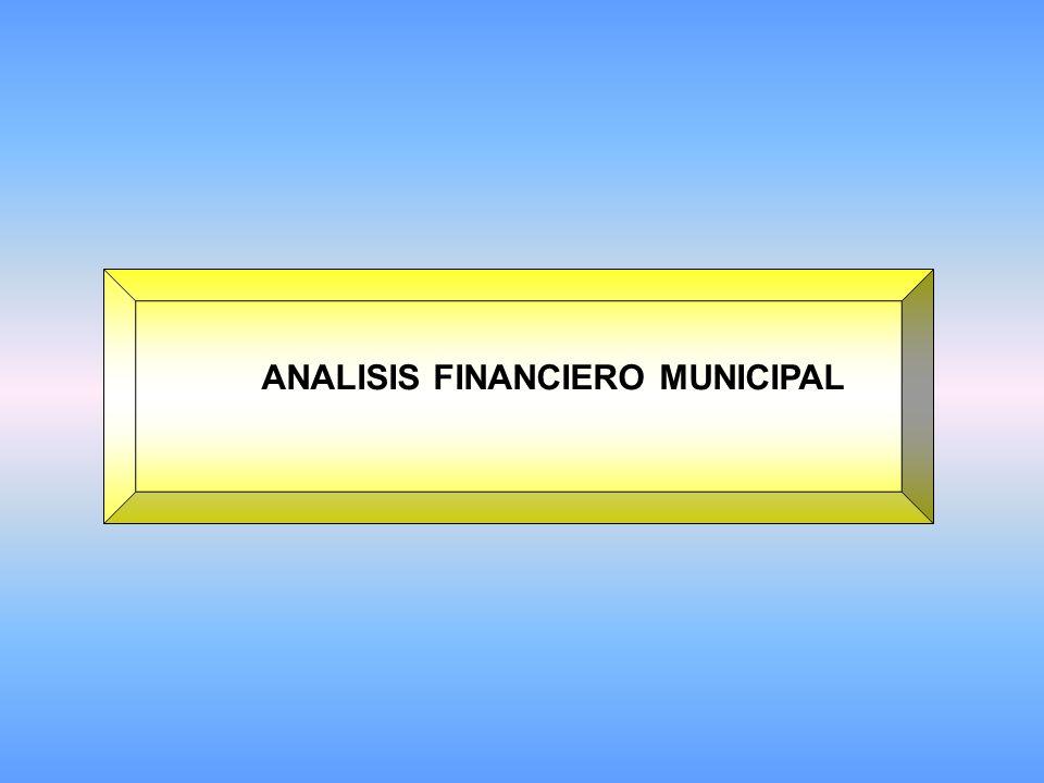 ANALISIS FINANCIERO MUNICIPAL