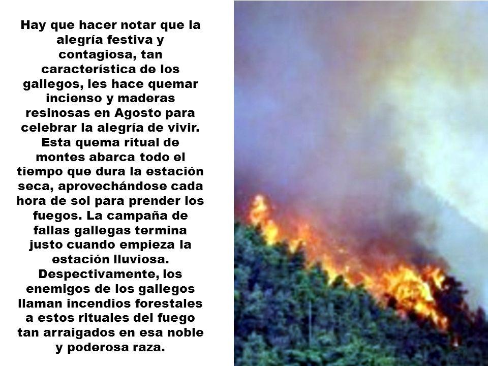 En Septiembre, como es lógico que ocurra en Galicia, igual llueve... igual no llueve. Se suele zanjar la cosa diciendo: