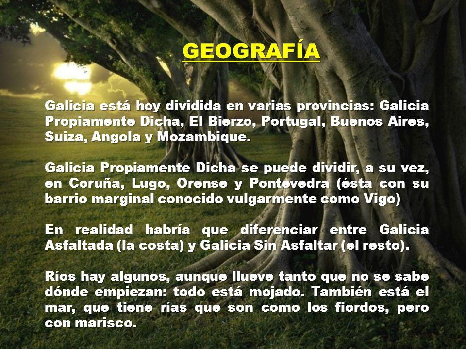En el principio, Dios creó GALIZA con el aspecto que se ve en este muy antiquísimo mapamundi. Luego, con el paso de los siglos, la distribución territ