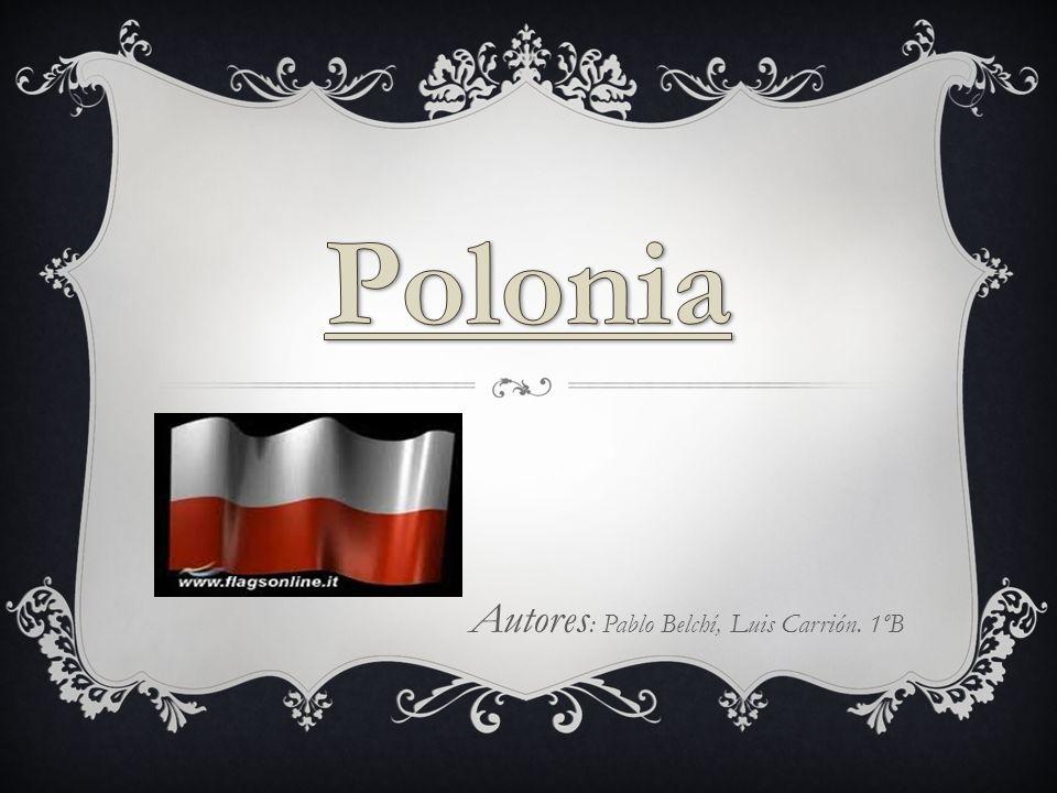 POLONIA: La capital de Polonia es Varsovia.