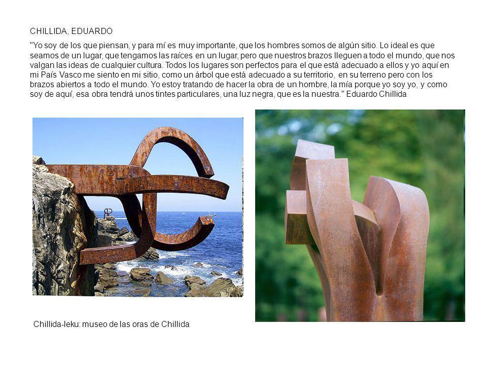 CHILLIDA, EDUARDO