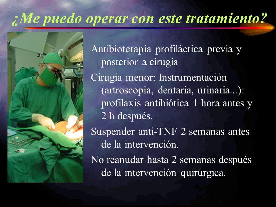 Antibioterapia profiláctica previa y posterior a cirugía Cirugía menor: Instrumentación (artroscopia, dentaria, urinaria...): profilaxis antibiótica 1