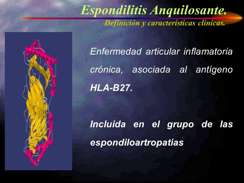 EA impacto –Calidad de Vida –Funcionalidad Deformidad Incapacidad Incapacidad laboral Impacto socio-sanitaio Espondilitis Anquilosante.