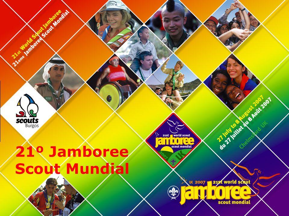 Jamboree 2007 21 st World Scout Jamboree Es parte de la celebración de los 100 años del Movimiento Scout en el mundo.