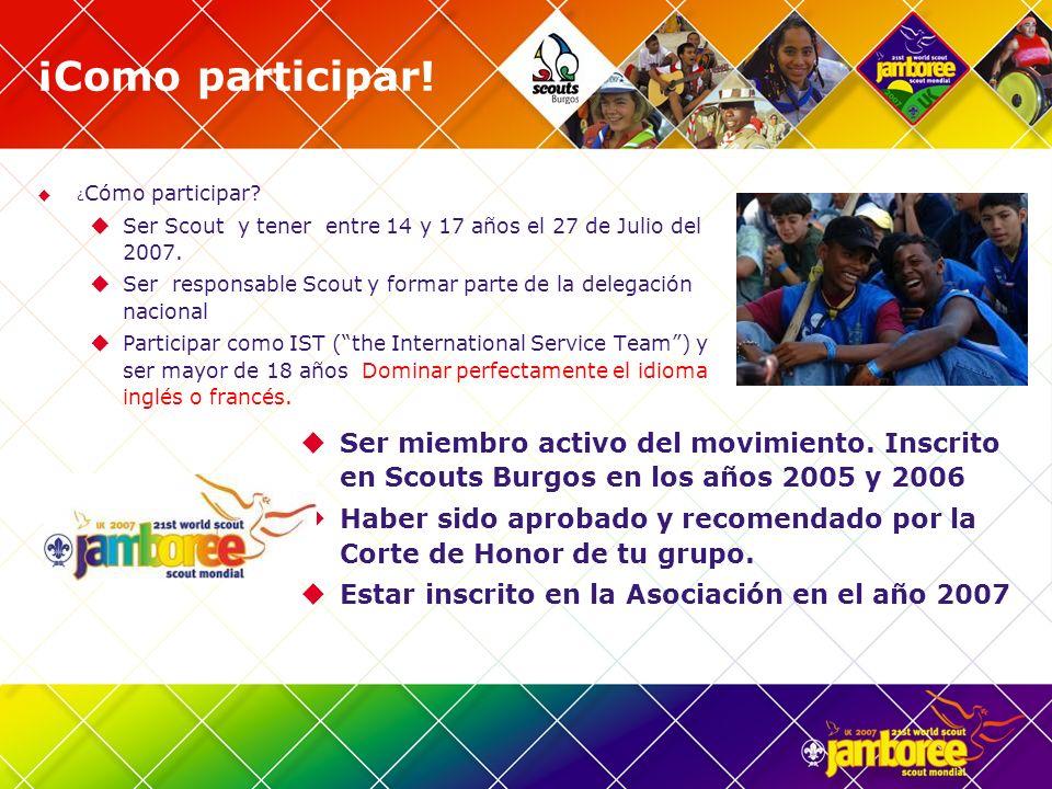 Más información: Contacta con Scouts Burgos.Responsable de Programas.