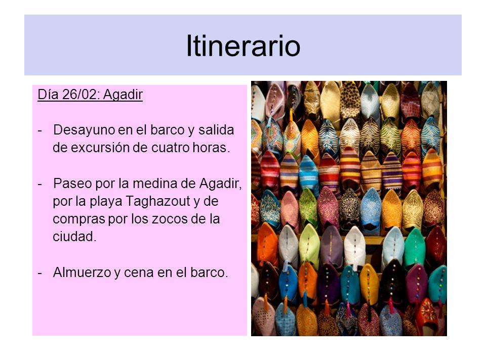 Itinerario Día 27/02: Lanzarote.