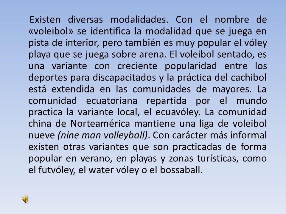 Historia El voleibol (inicialmente bajo el nombre de mintonette) nació el 9 de febrero de 1895 en Estados Unidos, en Holyoke, Massachusetts.