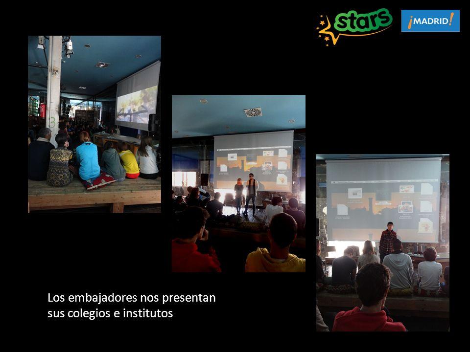 Los embajadores nos presentan sus colegios e institutos