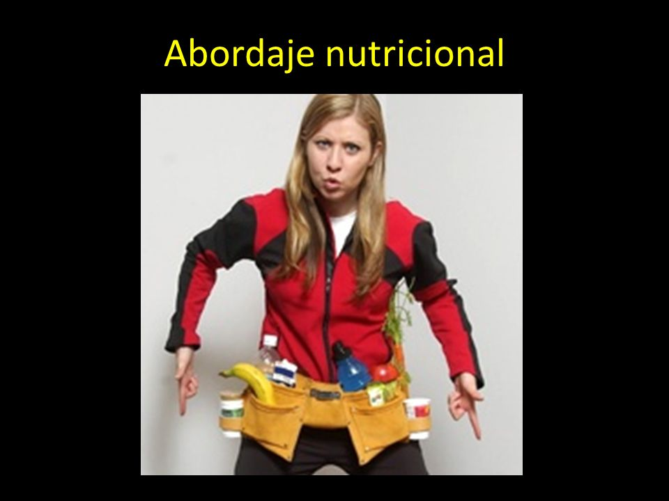 Abordaje nutricional