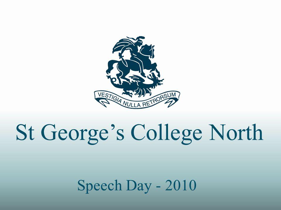 St Georges College North Speech Day - 2010