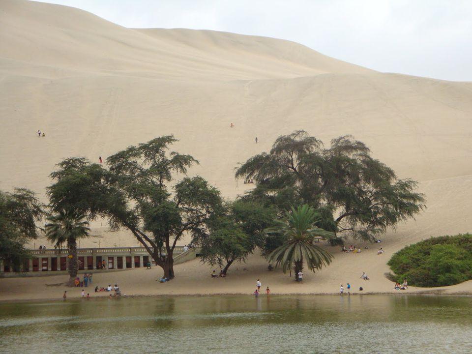 La ciudad de Ica está situada en un fértil valle en la parte sur del Perú.