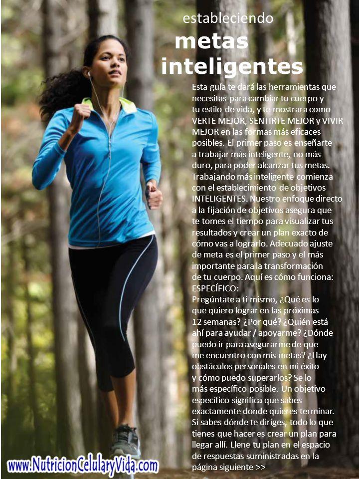 Esta guía te dará las herramientas que necesitas para cambiar tu cuerpo y tu estilo de vida, y te mostrara como VERTE MEJOR, SENTIRTE MEJOR y VIVIR MEJOR en las formas más eficaces posibles.