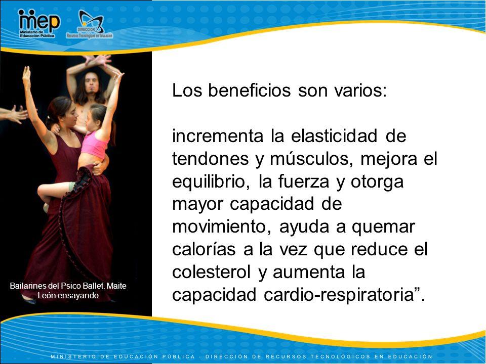 Bailarines del Psico Ballet.