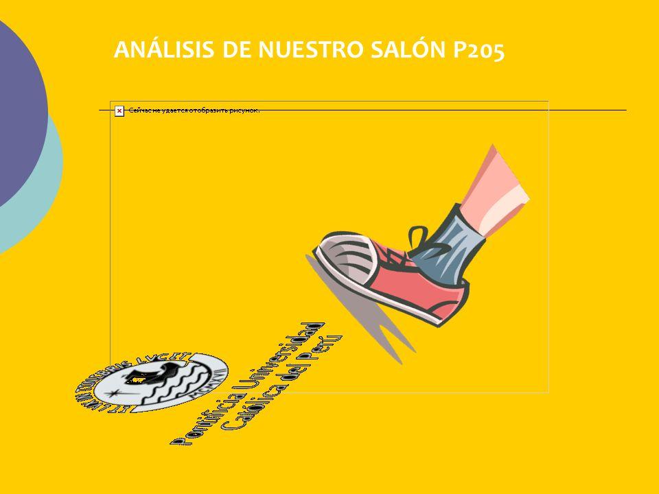 ANÁLISIS DE NUESTRO SALÓN P205