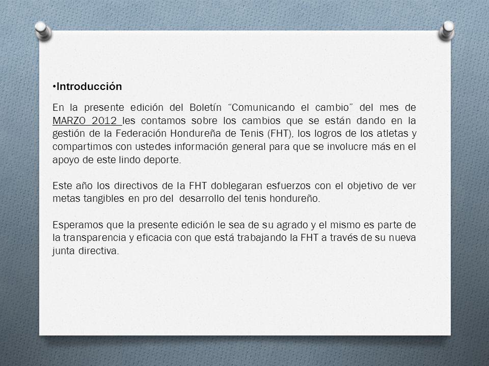 Introducción En la presente edición del Boletín Comunicando el cambio del mes de MARZO 2012 les contamos sobre los cambios que se están dando en la ge