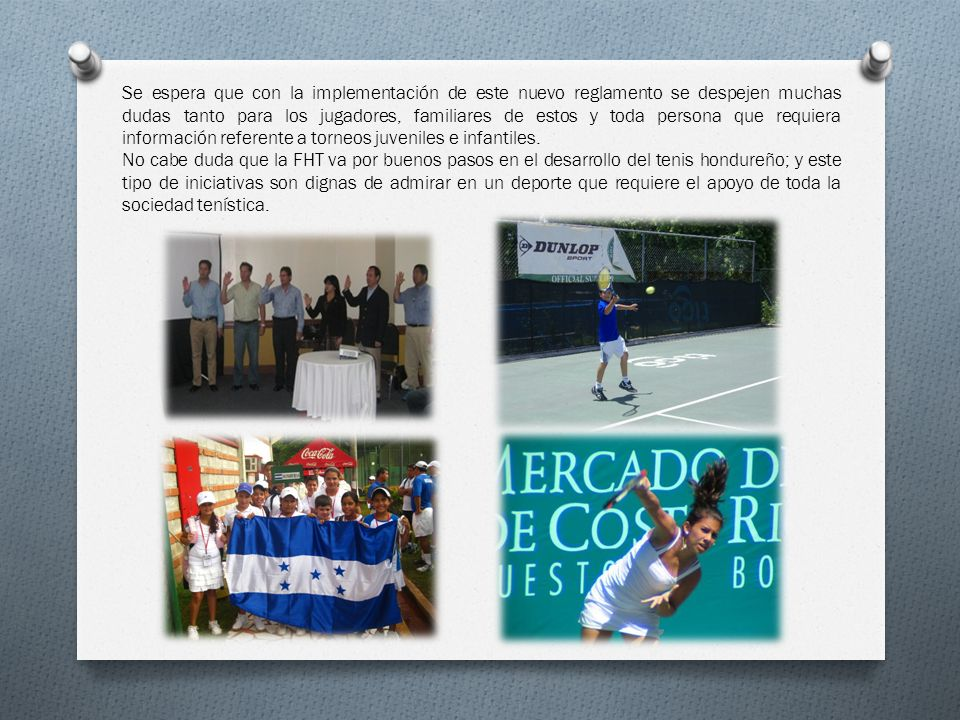 Honrosa participación de Honduras en WJTC Un buen número de jugadores que han participado en este evento ha comenzado a dejar huella en los Circuitos ATP y WTA.