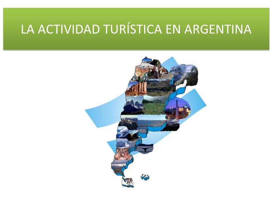 LA ACTIVIDAD TURÍSTICA EN ARGENTINA
