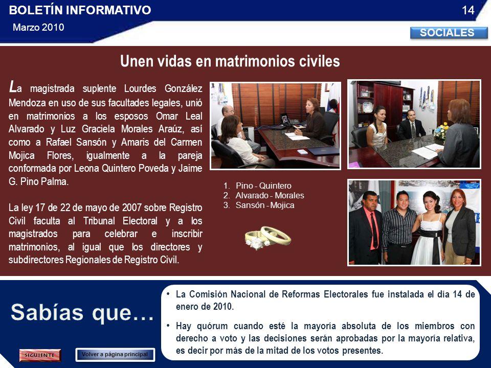 La Comisión Nacional de Reformas Electorales fue instalada el día 14 de enero de 2010.