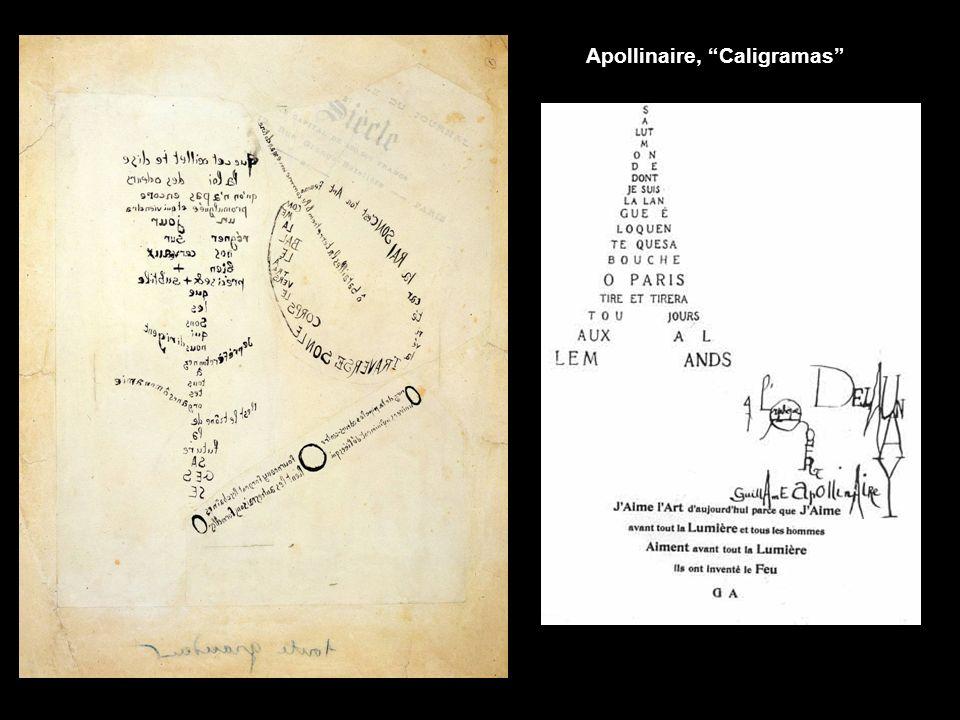 Apollinaire, Caligramas