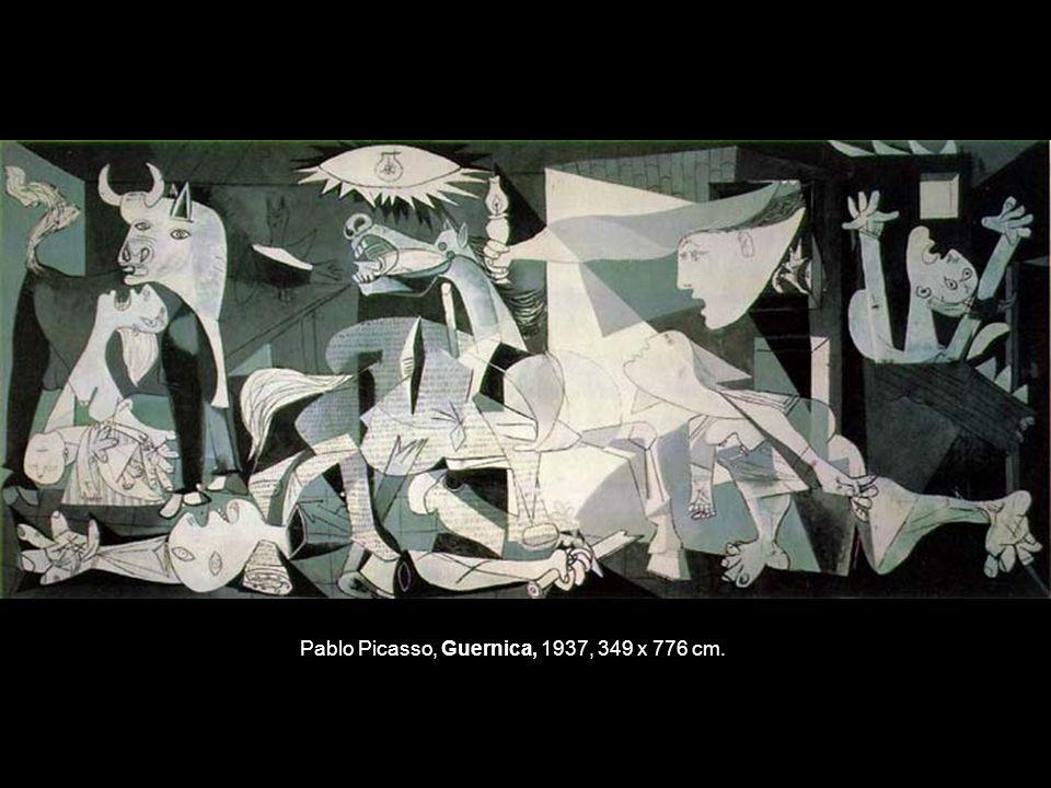 Pablo Picasso, Guernica, 1937, 349 x 776 cm.