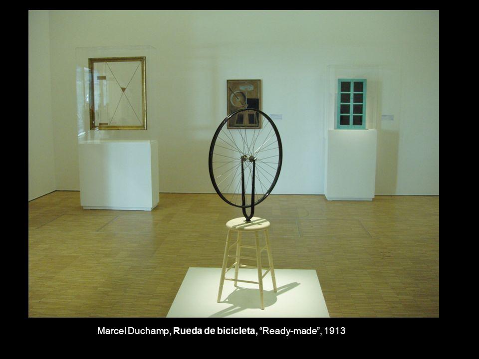 Marcel Duchamp, Rueda de bicicleta, Ready-made, 1913