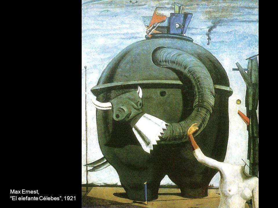 Max Ernest, El elefante Célebes, 1921