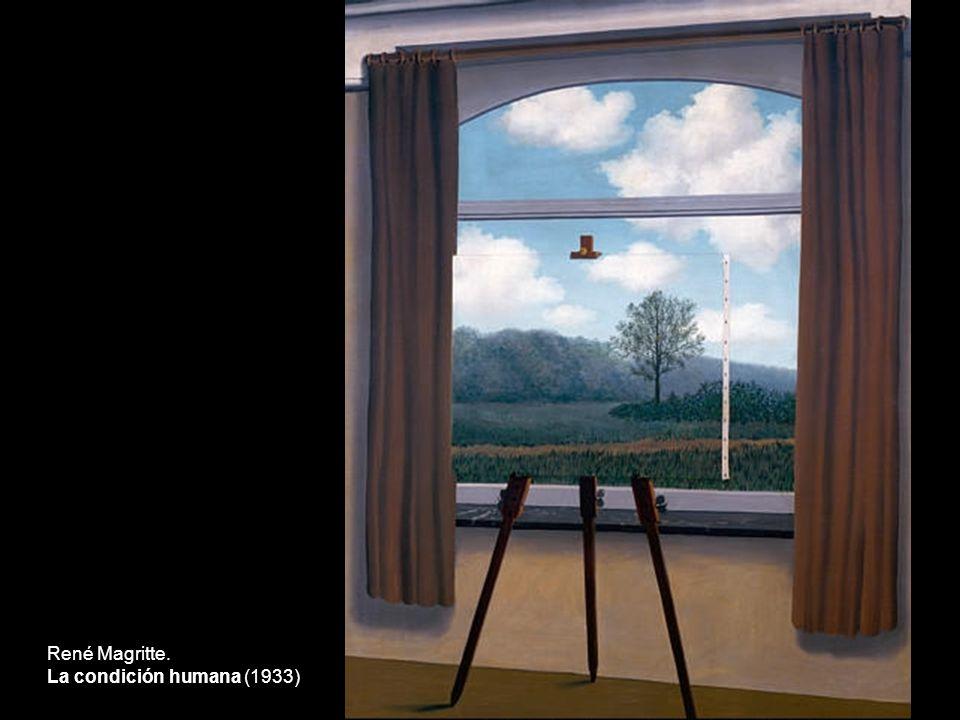 René Magritte. La condición humana (1933)