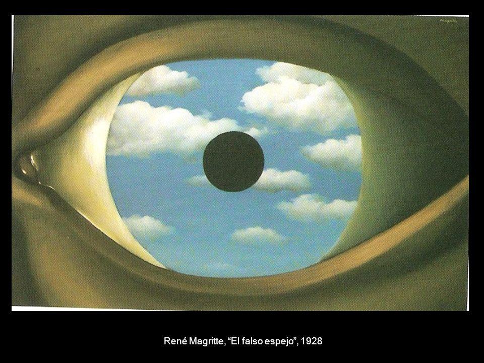 René Magritte, El falso espejo, 1928