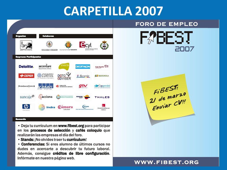 CARPETILLA 2007