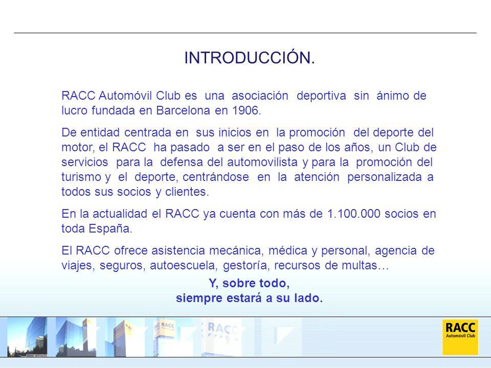 RACC Automóvil Club es una asociación deportiva sin ánimo de lucro fundada en Barcelona en 1906. De entidad centrada en sus inicios en la promoción de
