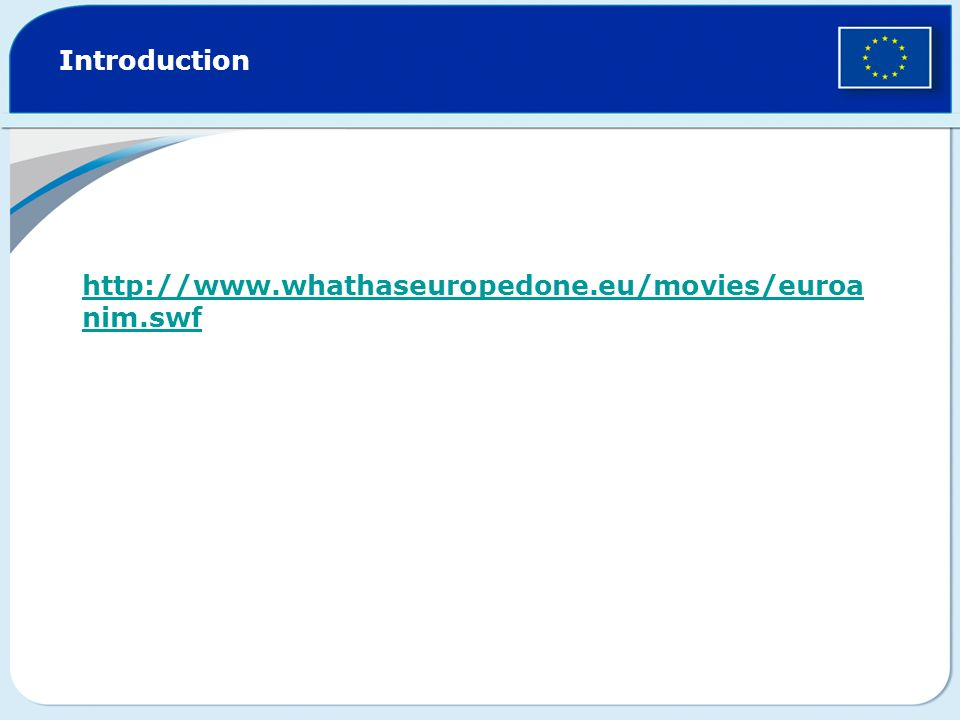http://www.whathaseuropedone.eu/ Introduction