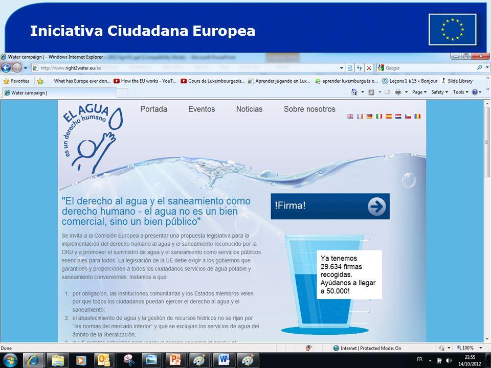 Iniciativa Ciudadana Europea