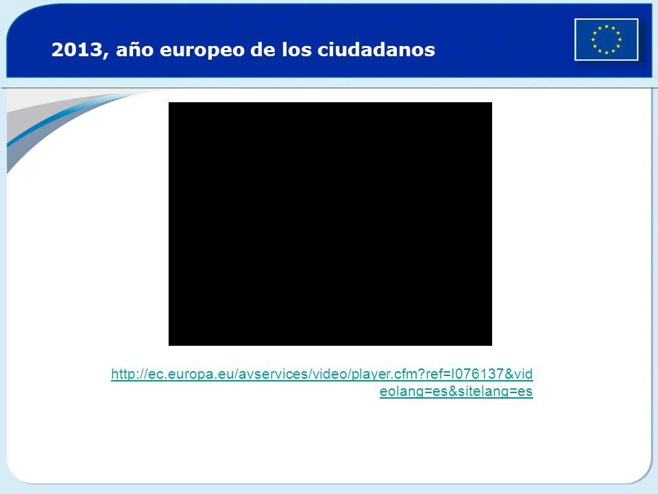 http://ec.europa.eu/avservices/video/player.cfm?ref=I076137&vid eolang=es&sitelang=es 2013, año europeo de los ciudadanos