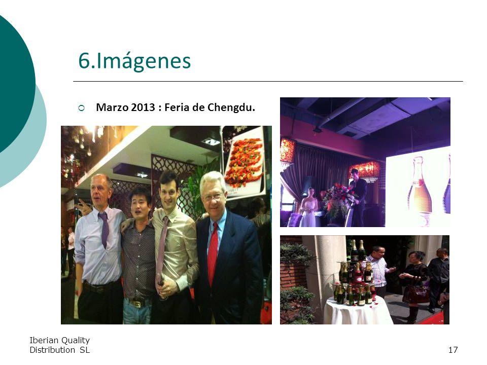 Iberian Quality Distribution SL17 6.Imágenes Marzo 2013 : Feria de Chengdu.