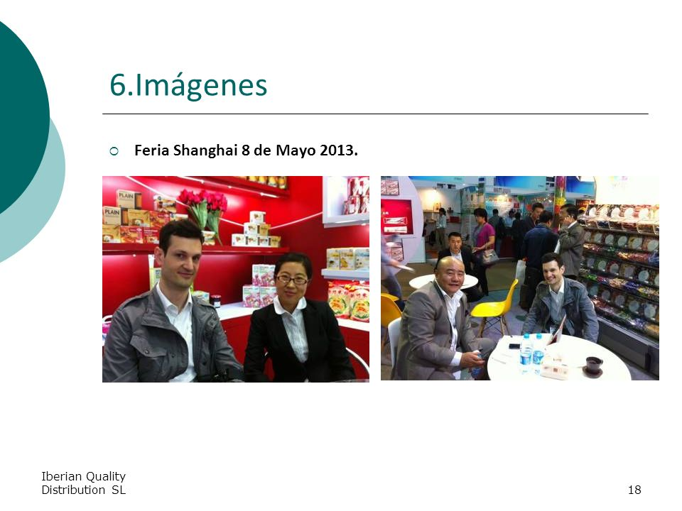 Iberian Quality Distribution SL18 6.Imágenes Feria Shanghai 8 de Mayo 2013.