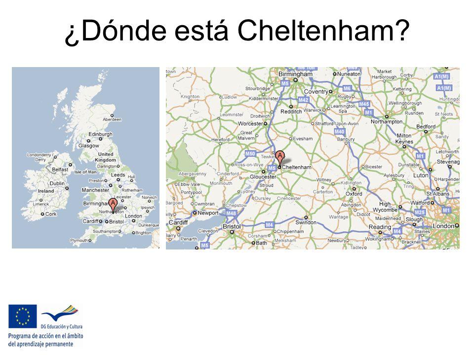 ¿Dónde está Cheltenham?
