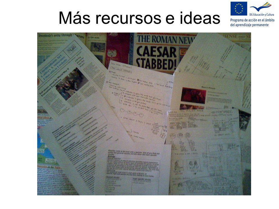 Más recursos e ideas