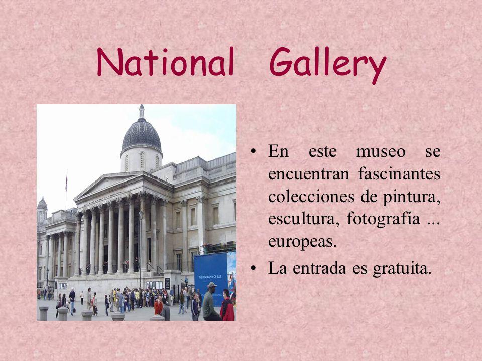 National Gallery En este museo se encuentran fascinantes colecciones de pintura, escultura, fotografía... europeas. La entrada es gratuita.