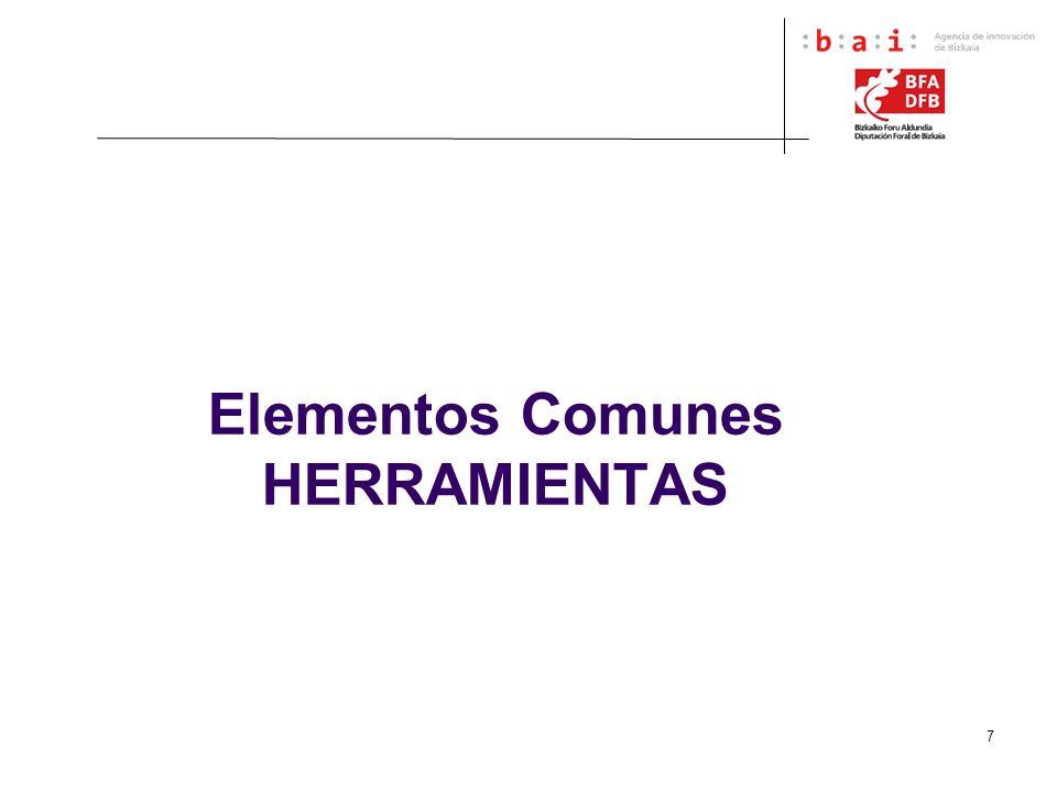 7 Elementos Comunes HERRAMIENTAS