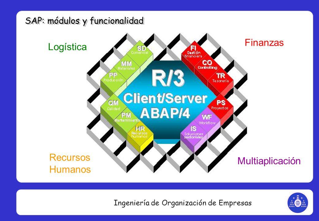 Ingeniería de Organización de Empresas Finanzas Logística Recursos Humanos Multiaplicación
