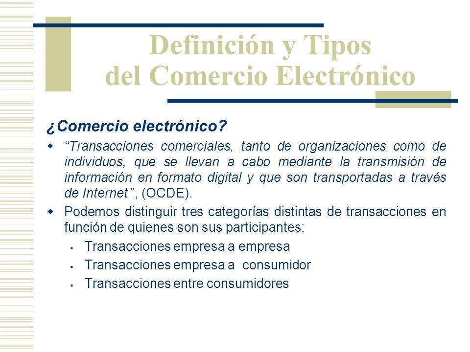 Como resultado, el Comercio Electrónico se ha expandido de un pequeño grupo de transacciones empresa a empresa entre partes conocidas. (EDI)... a una
