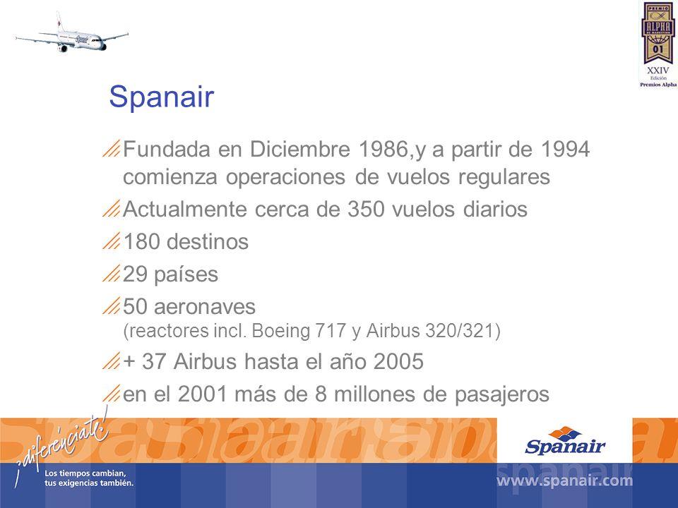 Fundada en Diciembre 1986,y a partir de 1994 comienza operaciones de vuelos regulares Actualmente cerca de 350 vuelos diarios 180 destinos 29 países 5