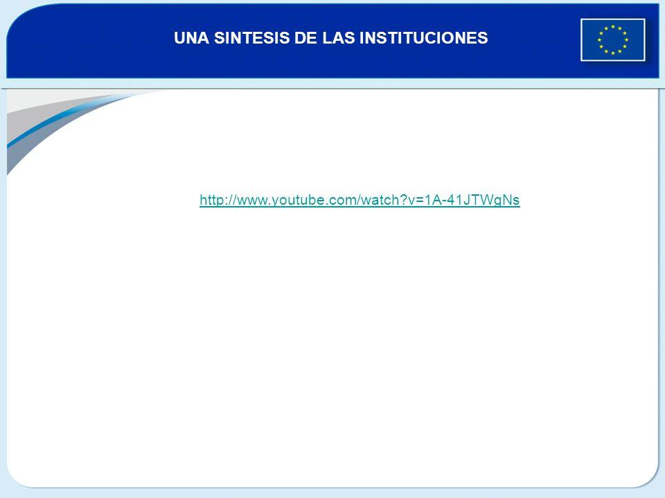 http://www.youtube.com/watch?v=1A-41JTWgNs UNA SINTESIS DE LAS INSTITUCIONES