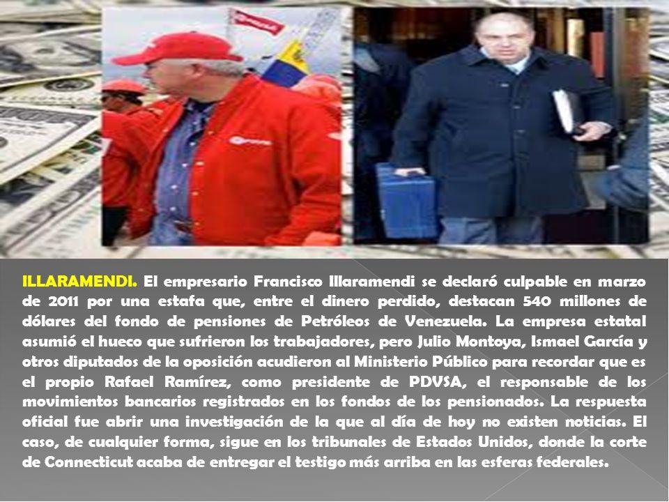 ILLARAMENDI. El empresario Francisco Illaramendi se declaró culpable en marzo de 2011 por una estafa que, entre el dinero perdido, destacan 540 millon