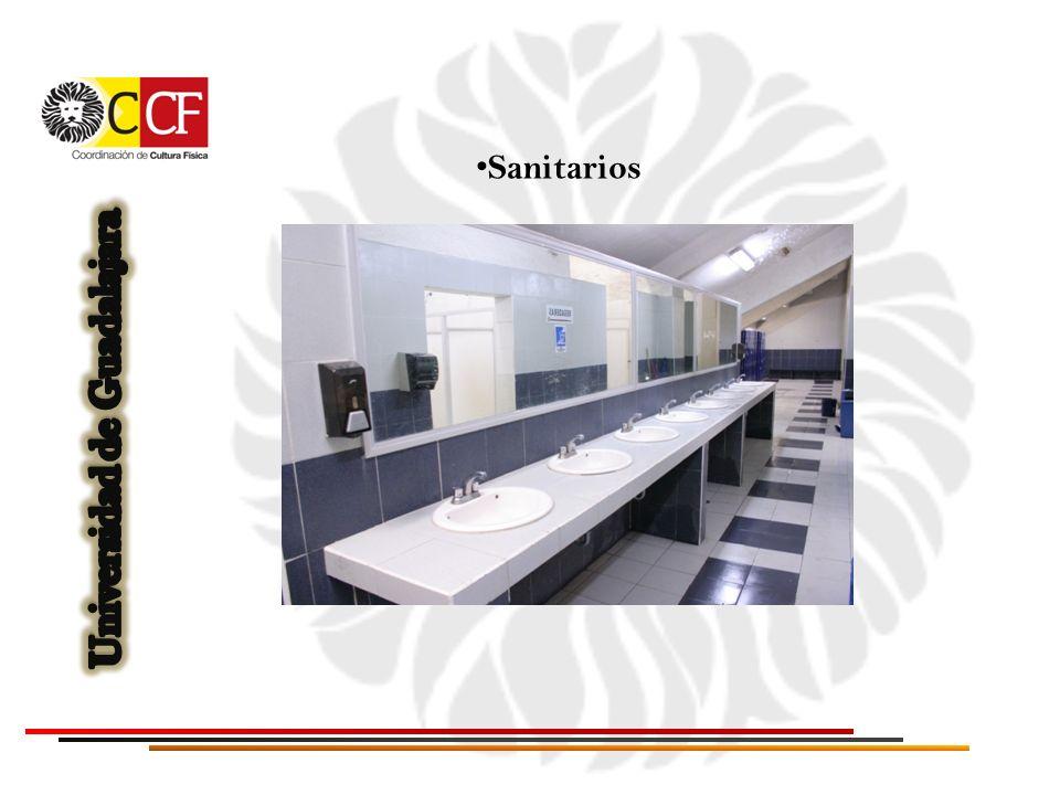 Baños con regadera y vestidores (para hombres y mujeres)
