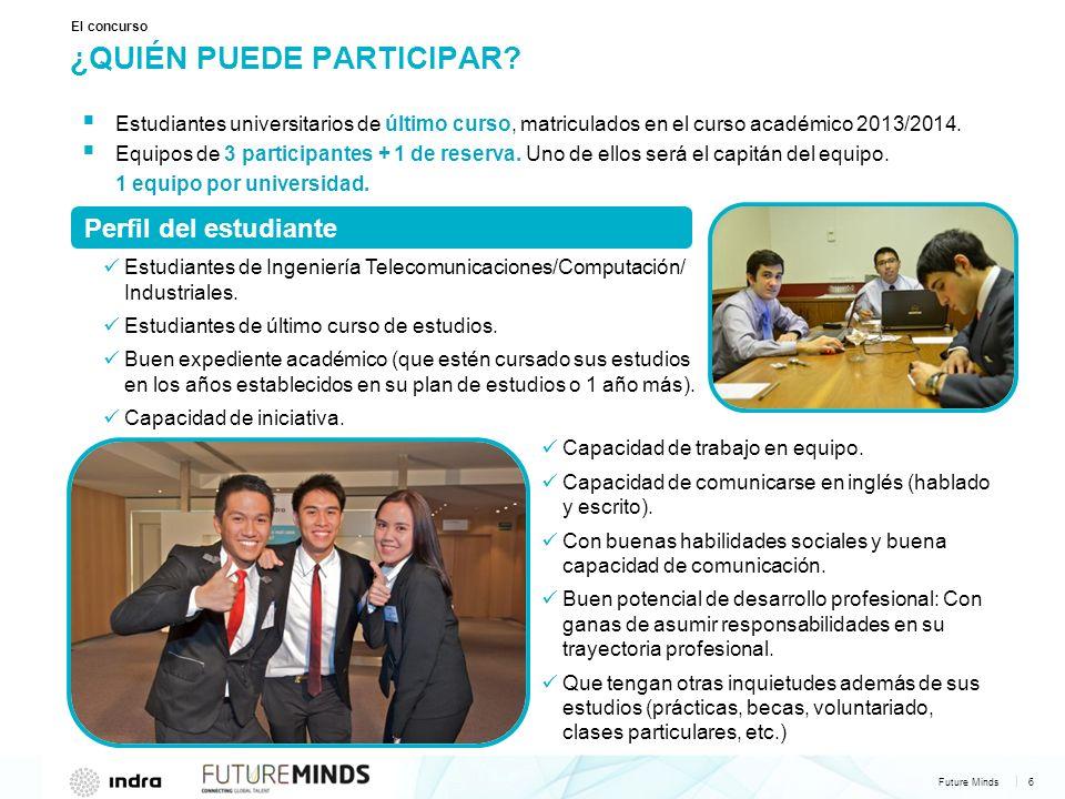 Future Minds 6 | ¿QUIÉN PUEDE PARTICIPAR.
