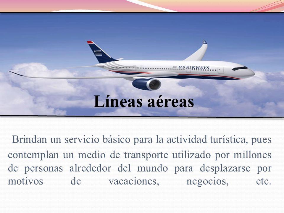 Las líneas aéreas se clasifican en: Compañías internacionales Vuelos Regionales Vuelos Continentales Vuelos Intercontinentales Vuelos Chárter Compañías nacionales Vuelos Internos Vuelos Chárter
